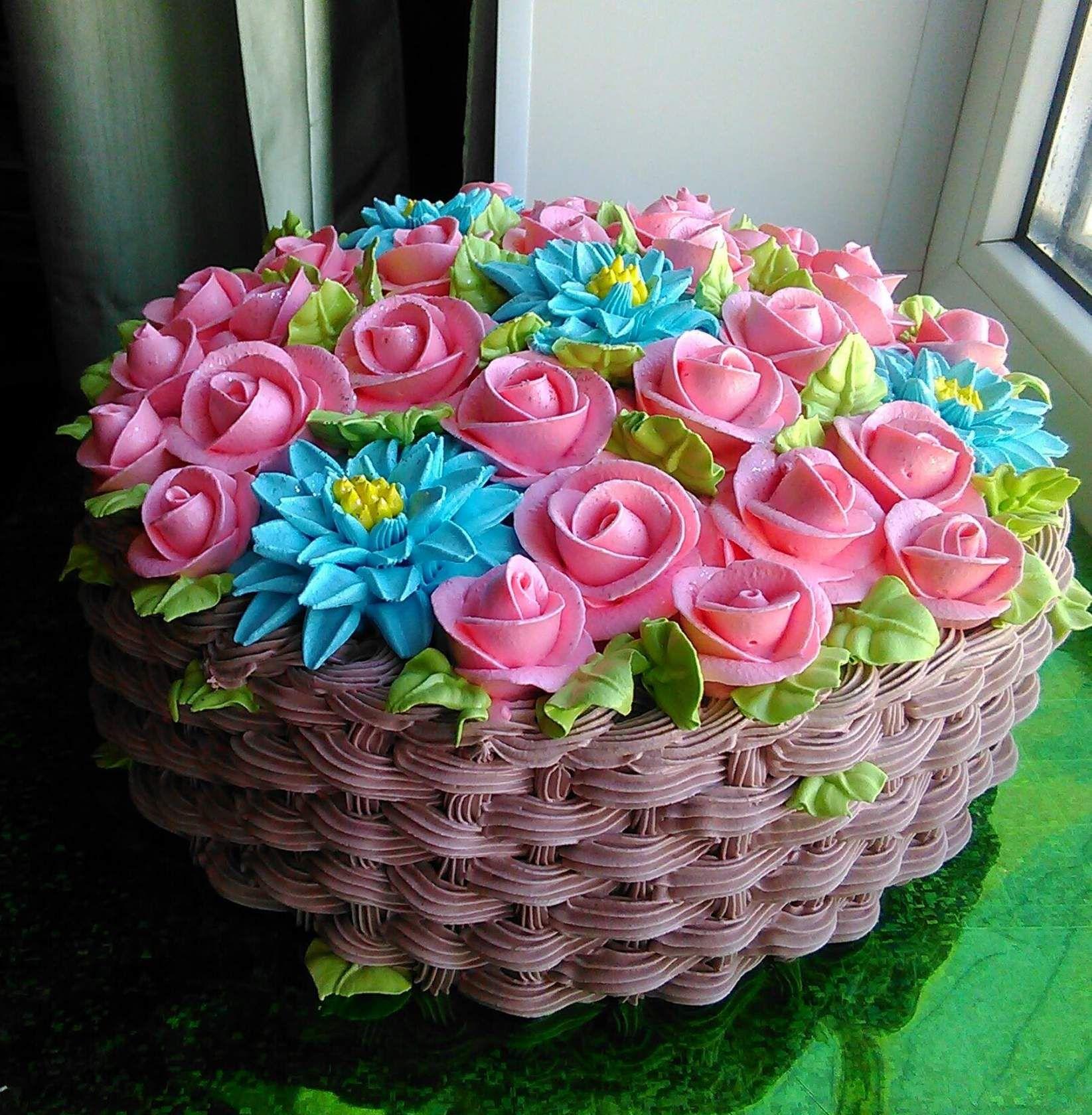 Одноклассники | Торт на день рождения, Цветочные торты ...