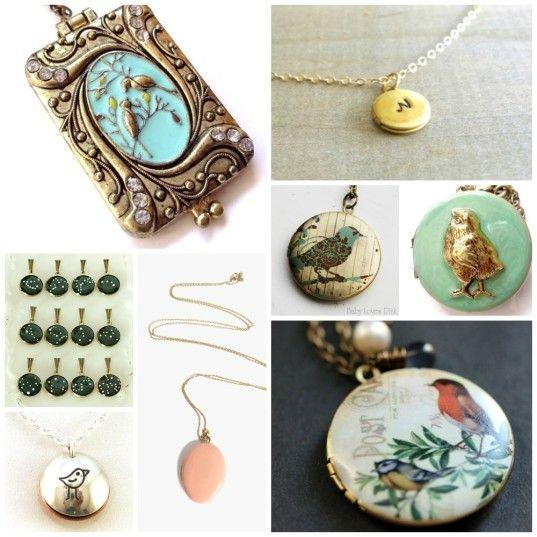 brass-locket-inspiration-collage