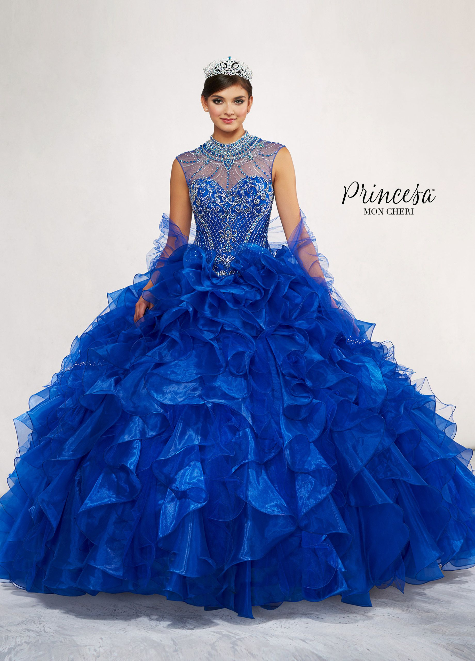 a55bffc2512 Princesa By Mon Cheri PR11801 - This regal Quinceañera dress was designed  for the Princesa who wants to make a statement on her big day!