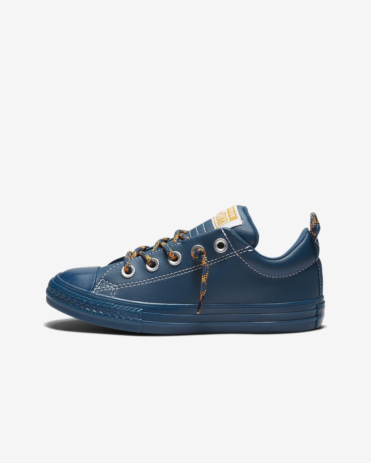 181343deba9122 Converse Chuck Taylor All Star Street Hiker Leather Slip Big Kids  Shoe