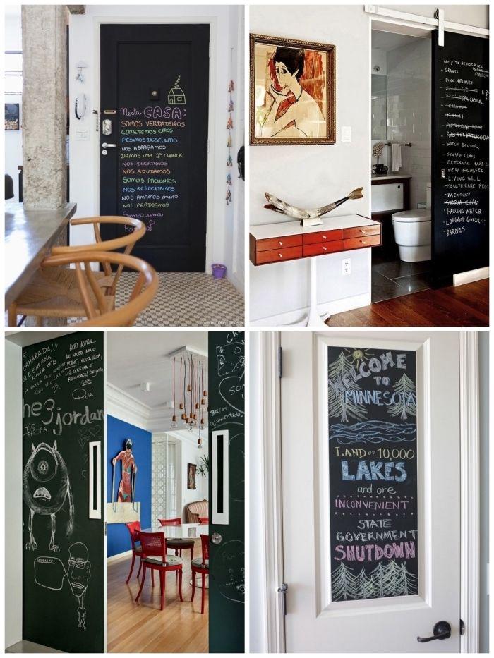 La Porte De La Cuisine ▷ 1001 + idées petit budget de décoration de porte intérieure