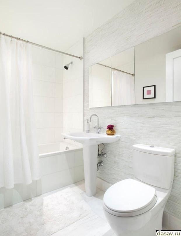 белая плитка в ванной комнате фото ванная комната с белой плиткой