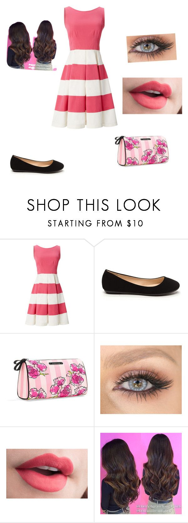 """""""Untitled #37"""" by kassandra-d-b on Polyvore featuring Kate Spade and Victoria's Secret"""