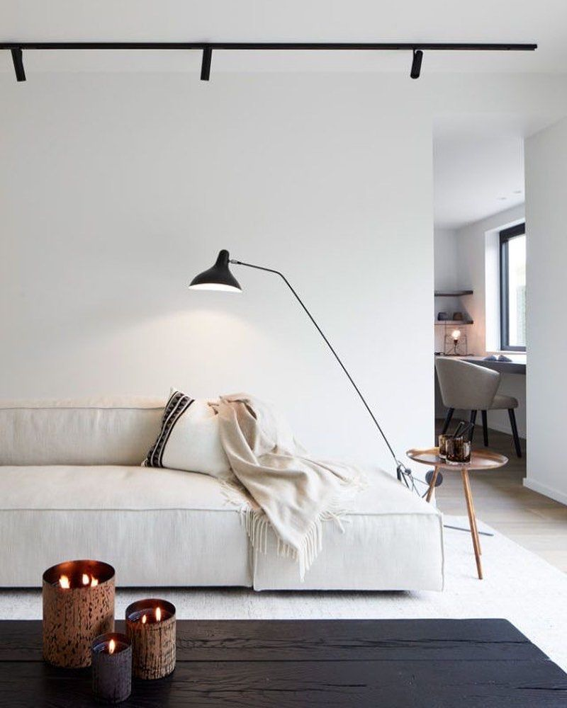 Interior Scandinavian Decor On Instagram Simplicity At Its Best How Gorgeous Is Thi In 2020 Minimal Living Room Minimalist Living Room Living Room Decor Apartment