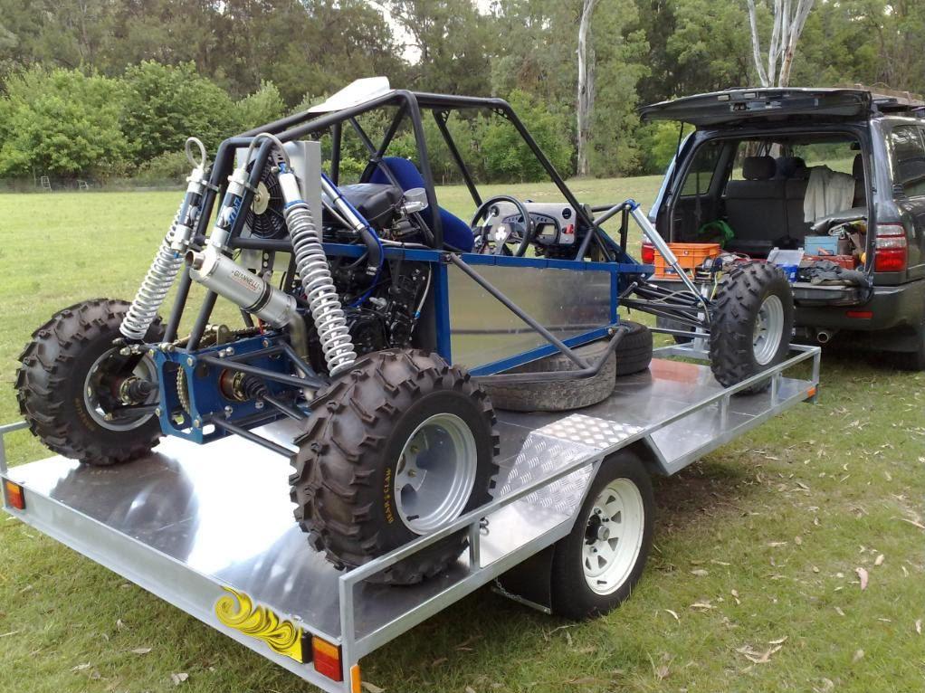 Idea by Mark McChesney on single seat desert carts. Dune