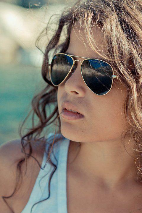 ray ban aviator espejo mujer