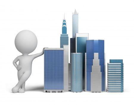 Image result for 3d little man building