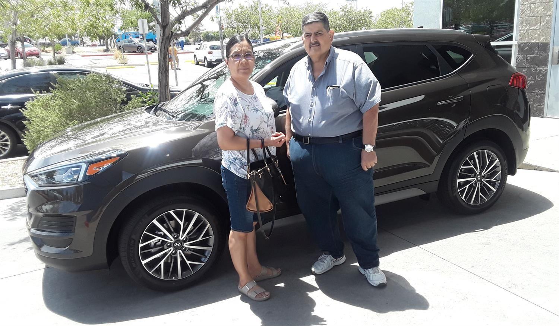 Maria We Heard You Re Head Over Wheels In Love With Your New 2020 Hyundai Tucson Congratulations From Henderson Hyun New Hyundai Hyundai Dealership Hyundai
