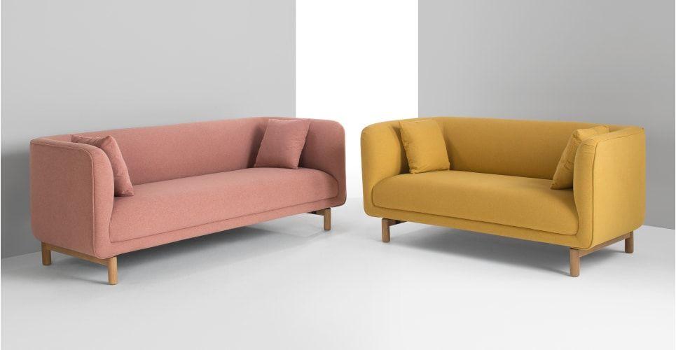 Tribeca 2 Sitzer Sofa Altrosa Neues Design Fur Dein Wohnzimmer Entdecke Jetzt Bequeme Und Schicke Sofas Bei Made Schwarze Wohnzimmermobel 2 Sitzer Sofa