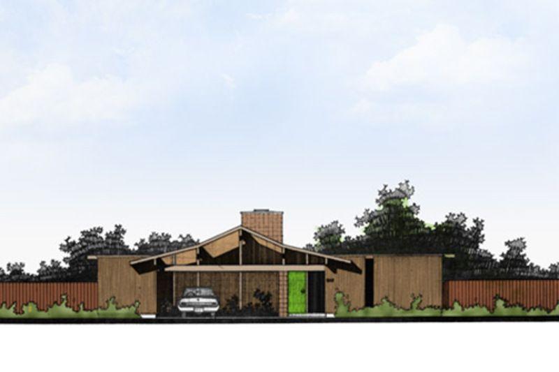 Modern Style House Plan - 4 Beds 2 Baths 2364 Sq/Ft Plan #470-7
