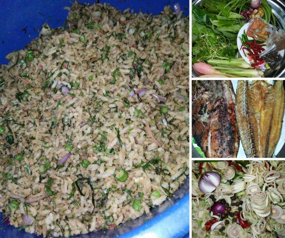 Jamu Selera Dengan Resipi Nasi Ulam Utara Paling Sedap Mudah Rasa Pale Rice Flavors