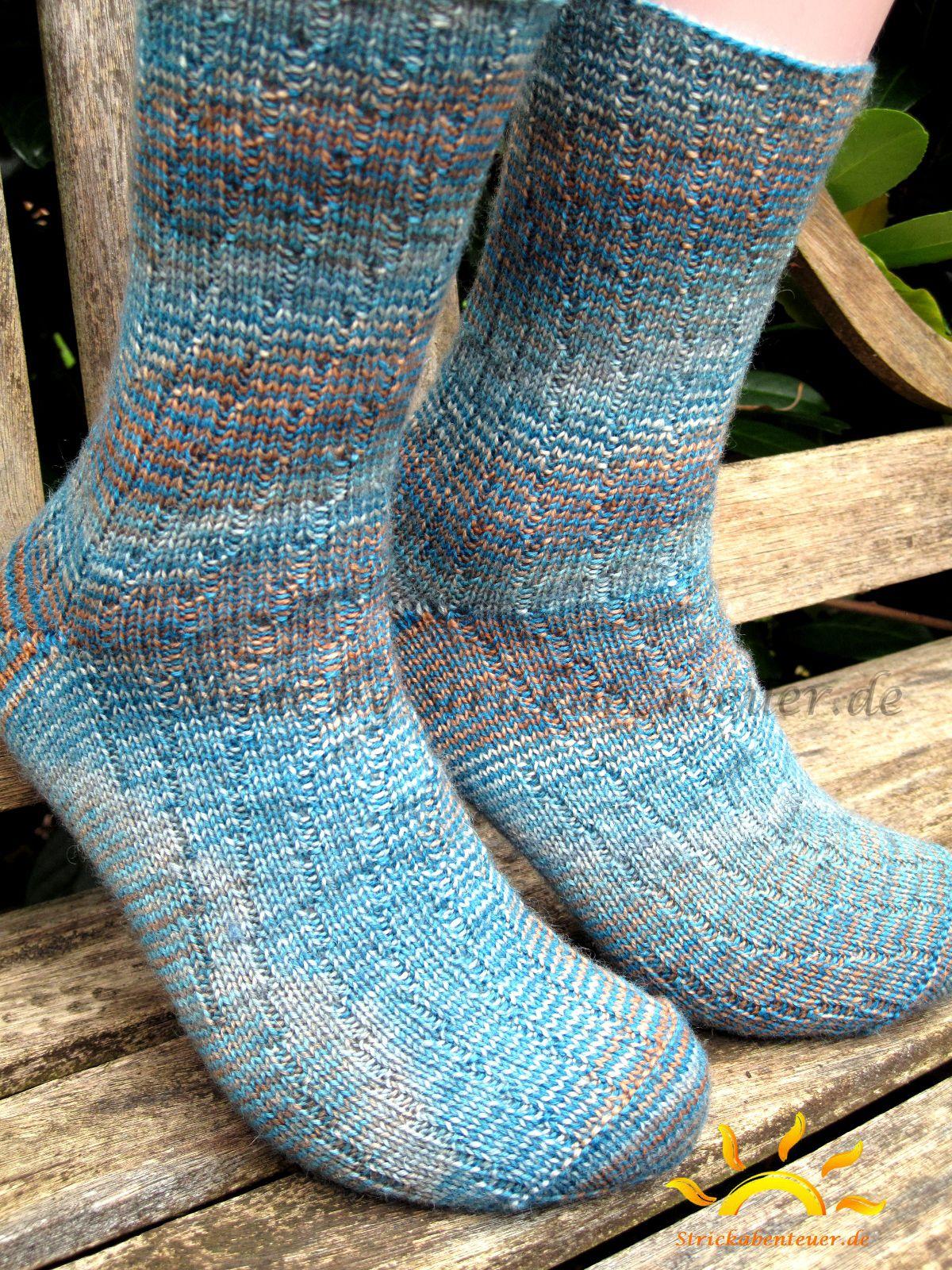 Photo of Strickstrümpfe Wollmuster Socken handgefärbt Strickmuster Strickmuster …