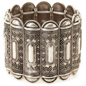 Forever 21 Etched Metal Bracelet