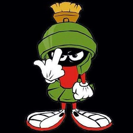 One finger... two words. | Marvin the martian, Cartoon ...Marvin The Martian Ipad Wallpaper