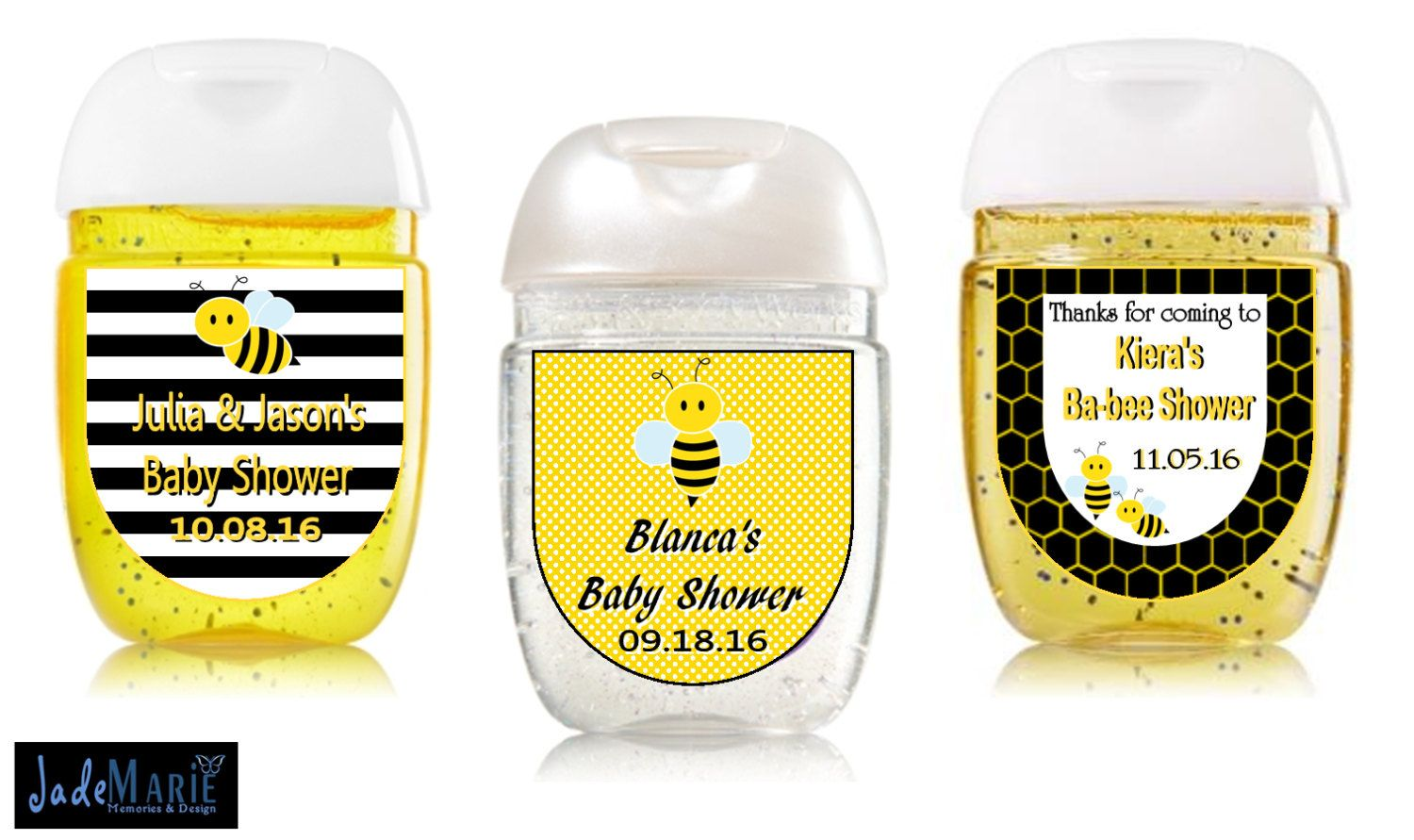Adorable Bee Baby Shower Favors Birthday Party Favors Hand