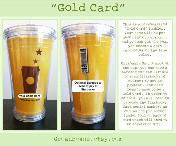 Handmade personalized starbucks gold card template cold tumbler handmade personalized starbucks gold card template cold tumbler with straw on etsy 2400 pronofoot35fo Gallery