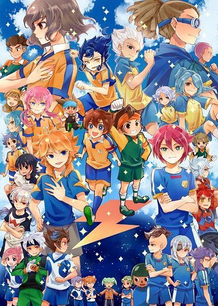 Inazuma Eleven Go Chrono Stone Eleventh Anime Anime Images
