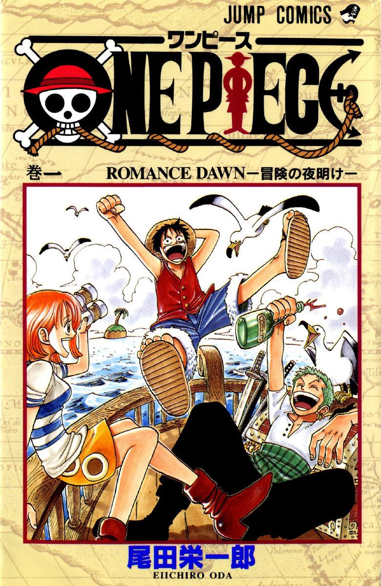 Volume Covers One Piece Manga Graphic Novel Eiichirō Oda