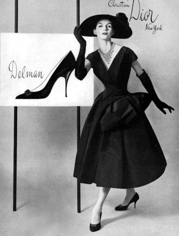 super popular info for competitive price Christian Dior, 1950s | fashion history | Dior dress ...