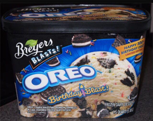 Tremendous Birthdaycake Oreo Ice Cream Oreo Junk Food Snacks Oreo Cookie Funny Birthday Cards Online Alyptdamsfinfo