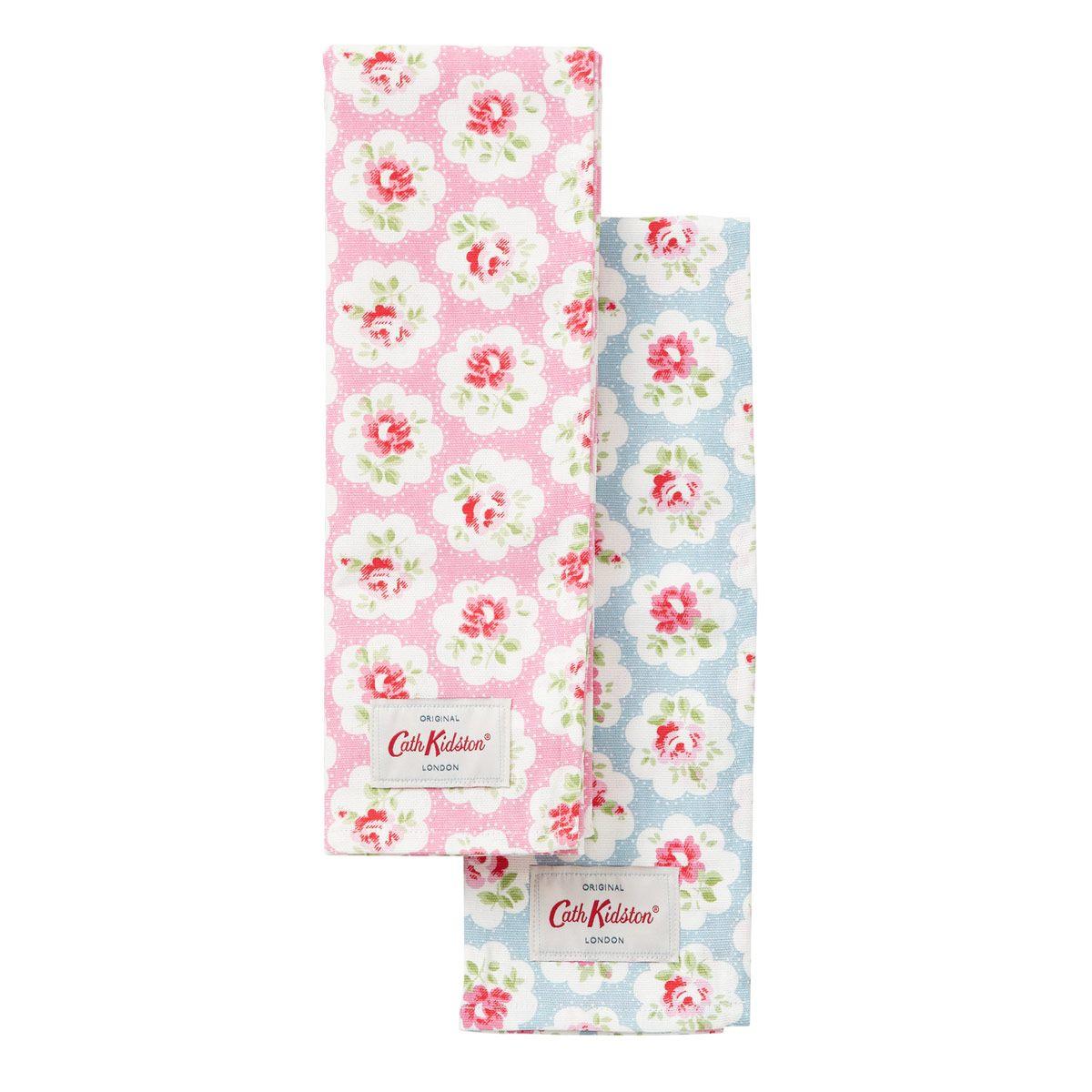 Tea Towels Set Of 2 Provence Rose Cathkidston