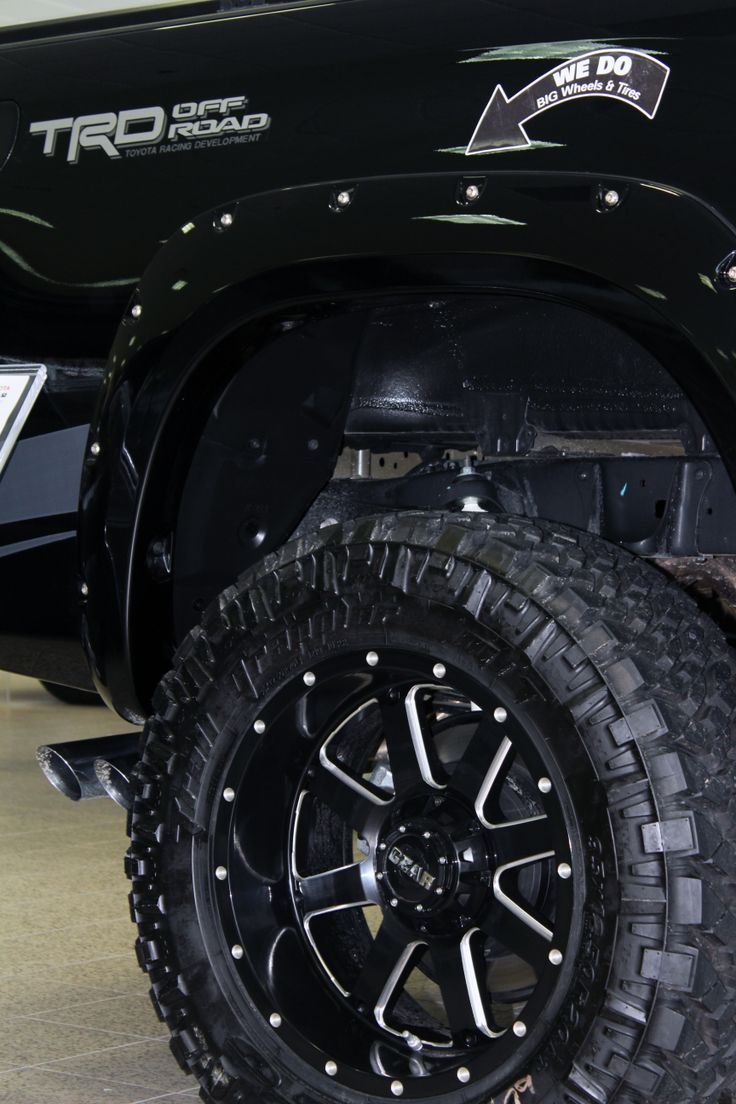 Nice Toyota 2017 Gear Wheels On Lifted Toyota Tundra Trd Real