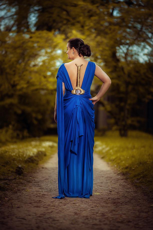 Wonder Woman Blue Dress Cosplay From Arwenia Gal Gadot