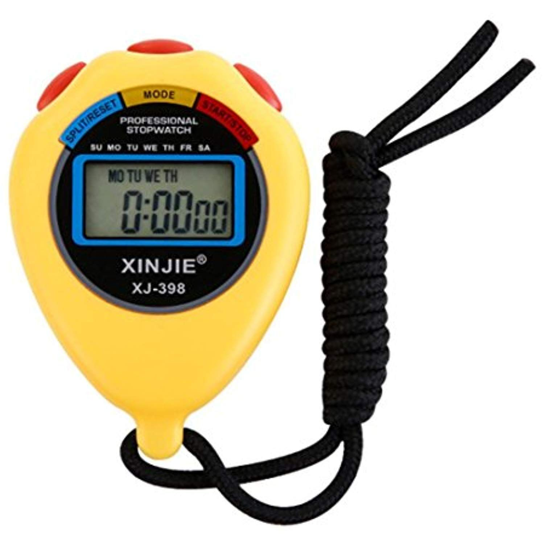 Multifunction Waterproof Digital Sports Timer Professional Handheld Lcd Chronograph Sports Stopwatch Timer With Date Tim Stopwatch Timer Stopwatch Chronograph