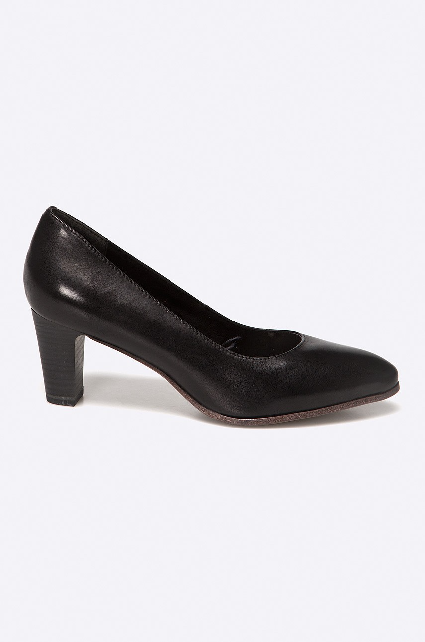 Tamaris Czolenka Czarny Answear Com Heels Kitten Heels Shoes