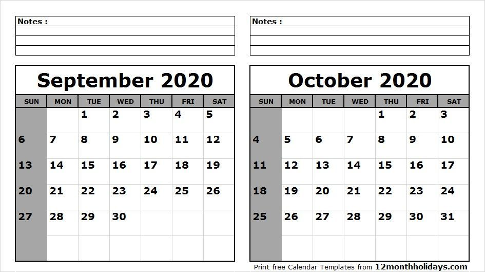 Excellent Photographs October 2020 Calendar Printable Popular Will You Be One Who Should Have Something Promptly Since You Don T Need To This No 1 Side Tracked 2020