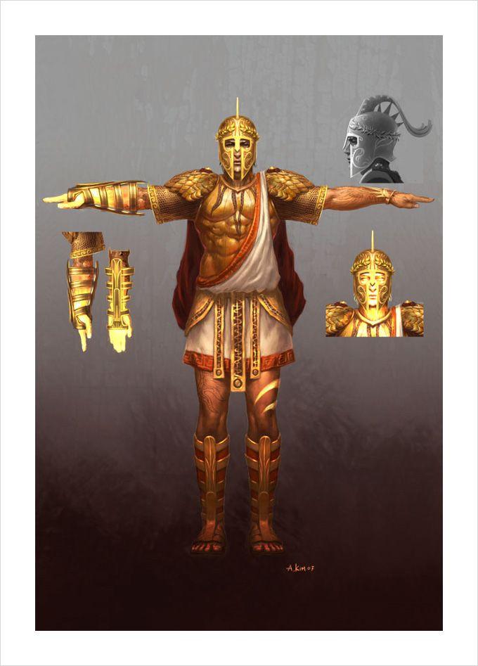 God Of War Iii Concept Art By Andrew Kim God Of War Greek