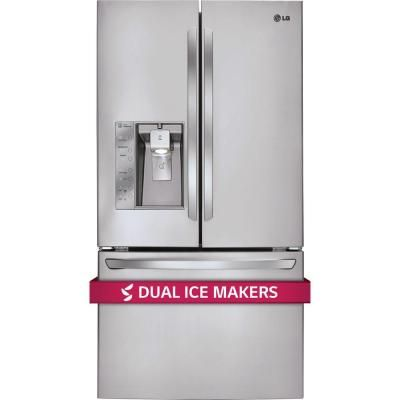 Lg Electronics 28 8 Cu Ft French Door Refrigerator In Stainless