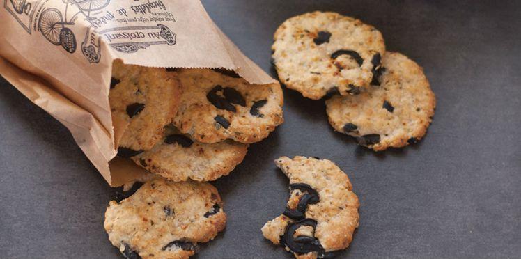 Cookies-repas au chèvre et flocons d'avoine | Recette
