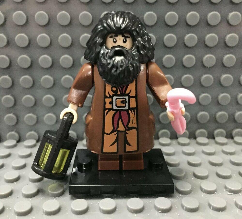 RUBEUS HAGRID HARRY POTTER MINIFIGURE LEGO COMPATIBLE