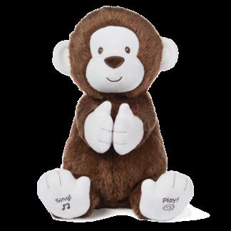Gund Animated Clappy Monkey 12 Toys Animation Plush