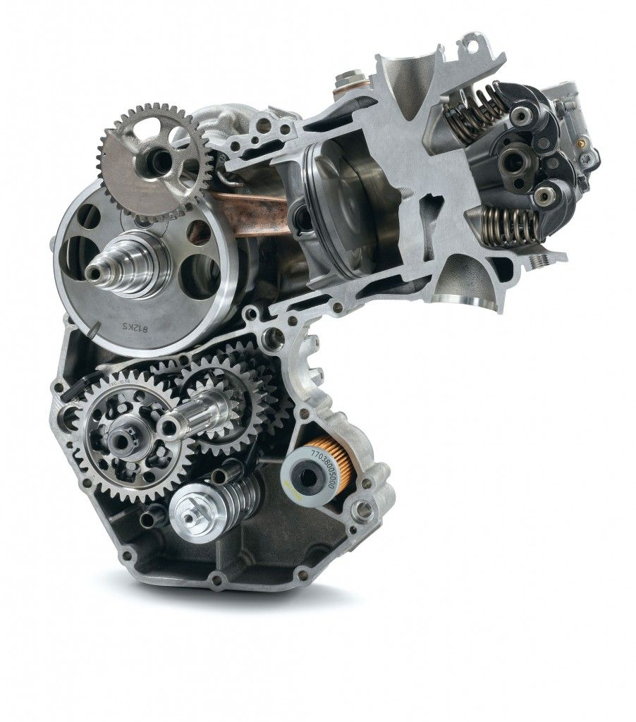 Yamaha 4 Cylinder Motorcycle Engine: Single-cylinder Engine - Auteoch.com