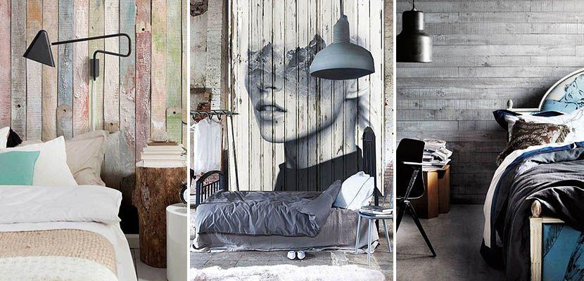 paredes revestidas de madera para decorar la habitacin httpwwwdecoora