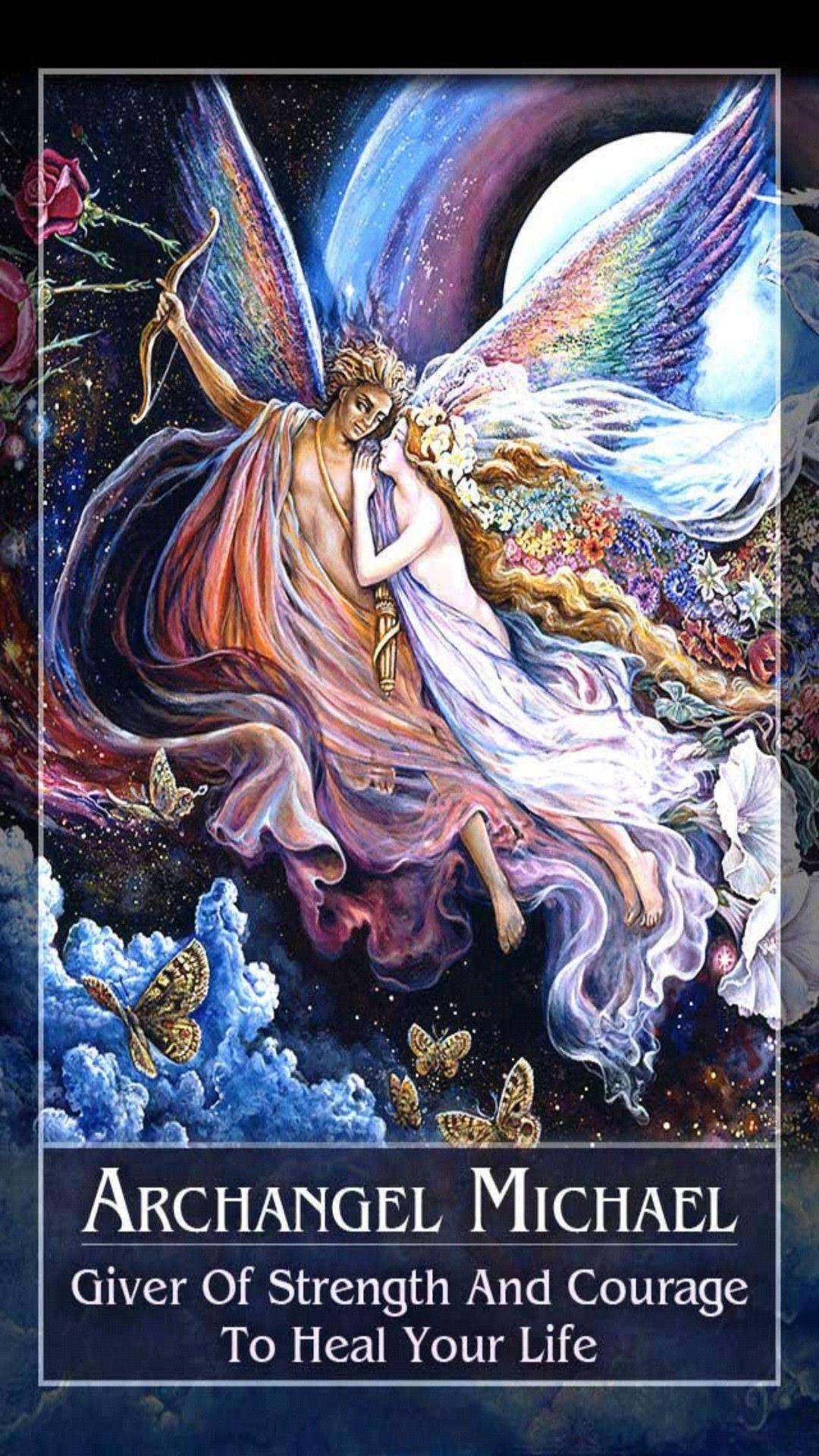 Mystical oracle archangel michael saintmichael