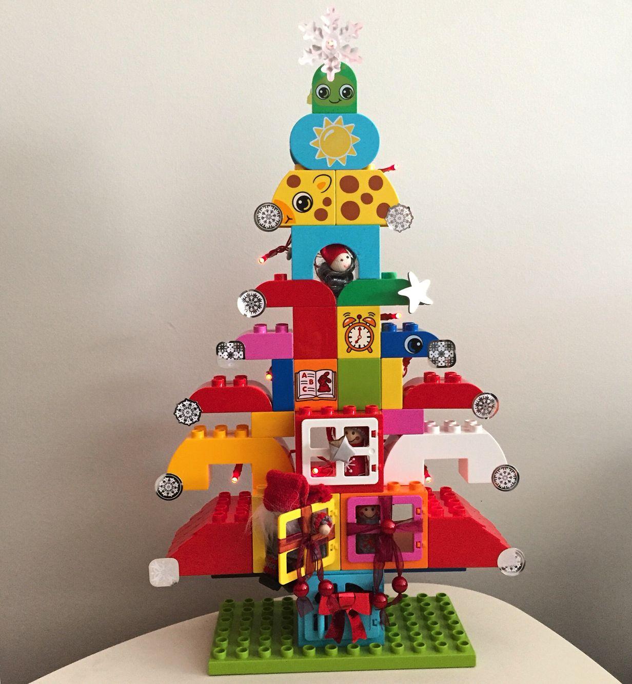 Lego christmas tree itus beginning to feel a lot like christmas