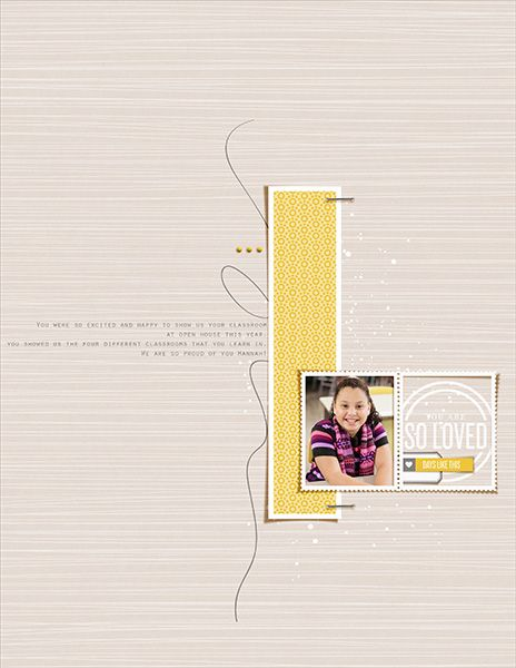 1 photo + frames + journaling
