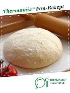 Pizzateig für 2 große Bleche von Birgit2013 Ein Thermomix  Rezept aus der Kategorie Grundrezepte auf  der Thermomix  Community