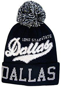 c87cad3e9ee Dallas Cowboys Blending Color Cuffed Winter Knit Hat Cap Beanie ...