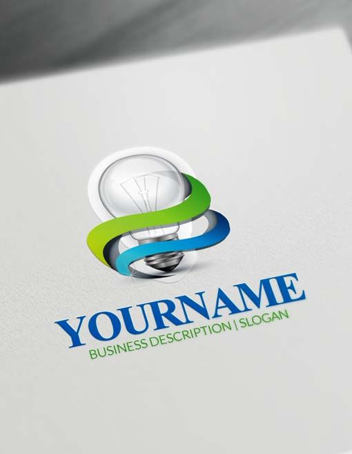 Create Your Own 3D Light Logo Idea with Free Logo Creator