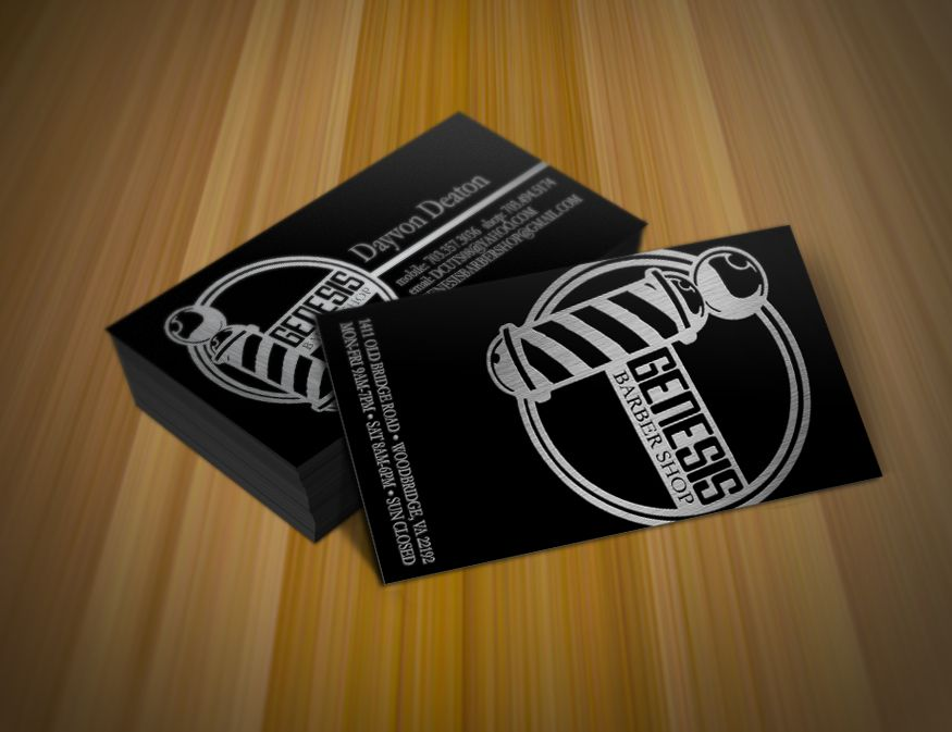 Barbershop business cards | Design | Pinterest | Barbershop ...