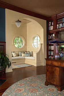 Collector's Realm - SALA Architects - Library and adjacent nook.
