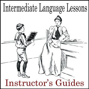 A teacher's guide to go along with Intermediate Language