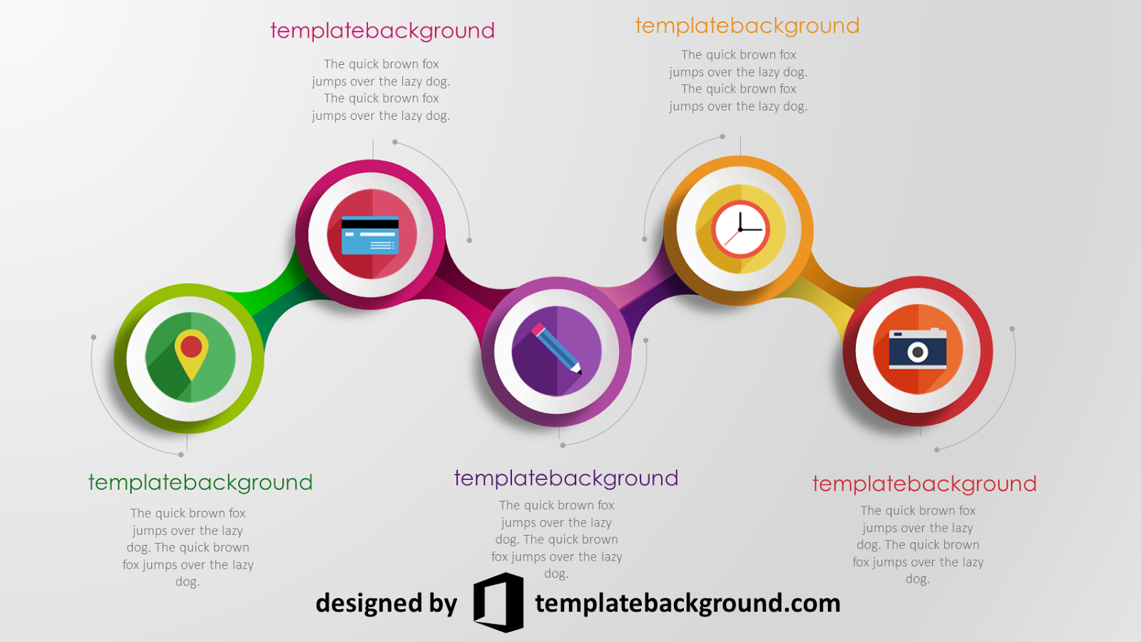 Pin by template background on animation effects template ppt template templates free presentation slides chart free stencils toneelgroepblik Gallery