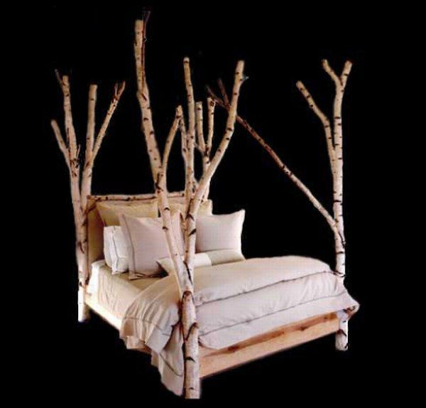 Discount Home Decor Catalogs: $15 000 Tree Bed From Rustic Furniture
