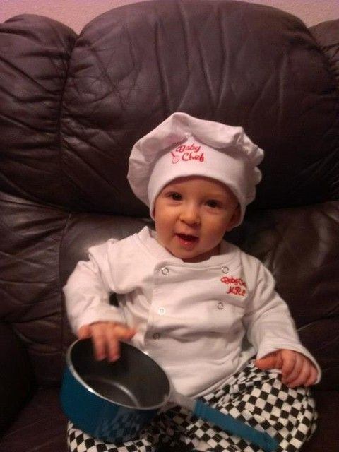 my lil chef in his Halloween costume - 2012!