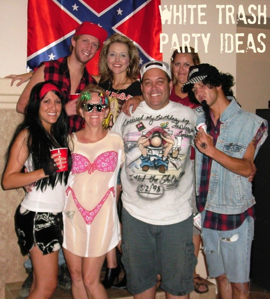 Beautiful White Trash Christmas Party Ideas Part - 6: Are You Having Or Attending A White Trash Party And Looking For White Trash  Party Ideas